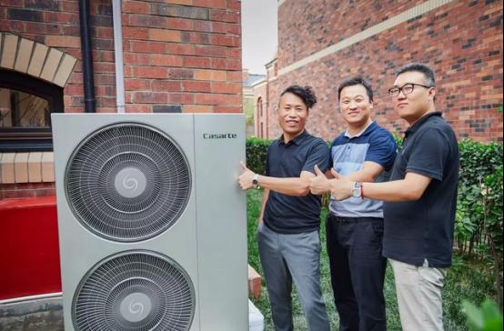 设计师把自家别墅装成了卡萨帝中央空调样板间!-焦点中国网